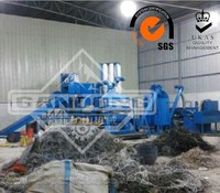 Environmental Scrap Copper Wire Shredder Cable Recycling Machine