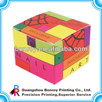 Top popular high quality coloring printed paper gift boxes manufacturer