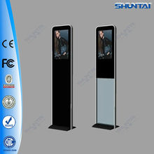 22inch free standing ultra thin design full HD media player