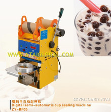 Semi-Automatic Digital Bubble Tea Machine Cup Sealer Bubble Tea Supplies Wholesale -CE,Semi-Auto