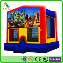 customized painting inflatable one directin mini bounce house/thomas the train inflatable bouncer house