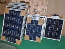 High Efficinency pv 100 watt solar panel with CE TUV for solar power system