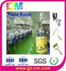 epoxy floor paint-salt resistant anti slip epoxy resin flooring Garment Factory concret floor paint