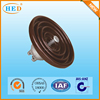 High quality brown suspension electrical porcelain insulator