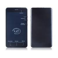 alibaba express 5inch QHD screen dual sim no camera mobile phone DK15