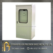 ISO certificated custom aluminium instrument enclosure , distribution box made in china