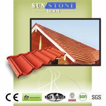 factory direct metal glazed stone coated coated roofing tile
