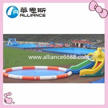 Top Sale Amusement Inflatable water Slide Professional Inflatable Slide