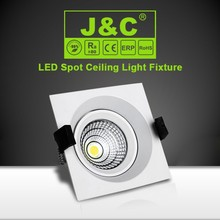 High lumen cob aluminum 9W ceiling spot with CE