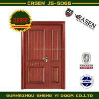 Solid meranti interior wooden doors for villas