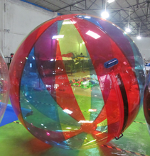 Top quality! TPU/PVC water floating walking ball bubble zorb D1009A
