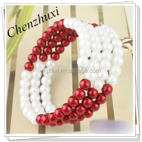Charming Women Bracelet Jewelry,Wholesale Faux Pearl Bracelet2