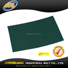 3.5mm Dark green Rough top PU conveyor belt for conveying of iron products