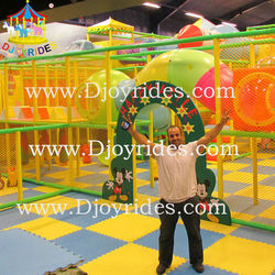 Colorful entertainment indoor playground equipment , kids soft indoor playground