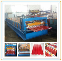 2014 canton fair new design xdl-840 aluminium step tile roll forming machine china manufacturer