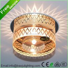 Alibaba arabic halogen downlight spot light mordern ceiling light with crystal material