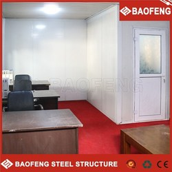 multi storey field-assembled movable office container