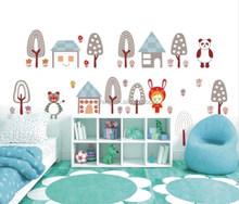 ( N551 ) [ м ] простой мультфильм панды для ребенка, Детская комната