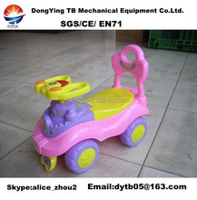 4 wheel plastic car ride on car with music