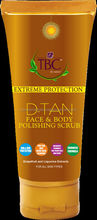 TBC BY NATURE EXTREME PROTECTION D-TAN FACE AND BODY POLISHING SCRUB