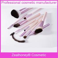 10 pcs face off makeup kit Beautiful polka dot makeup pack with pure color brush paint brush manufacturers in tamil nadu
