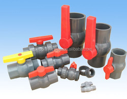 2015 PVC/Plastic Pipe Fitting Single Union Ball Valve DN50/Ball Float Check Valve with good Sale Price