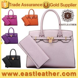 E1087 hot popular classical style elegant set 2 in 1 stock bags