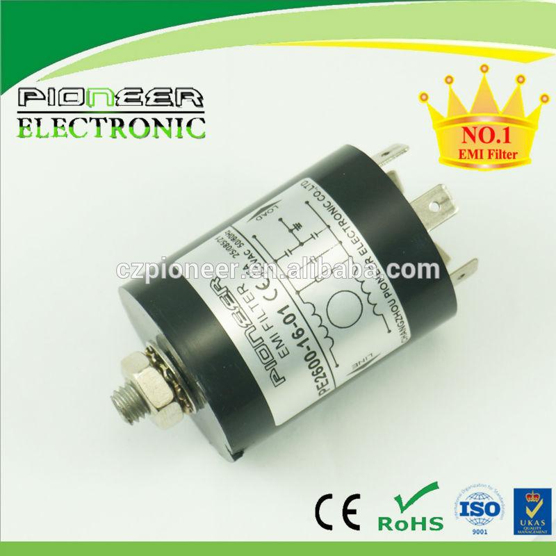 equipo de hogar 120/250V 6A PE2600-16-01 equipos electrónicos filtro de ruido inductor