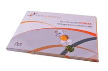 de felicitación de cumpleaños tarjetas de saludos de publicidad de la pantalla táctil del folleto tarjeta de vídeo de venta
