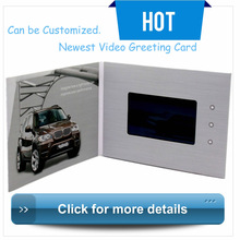 """4.3''7""""10"""" Lcd Advertising Express Video Card Brand Of Greeting Card Module"""