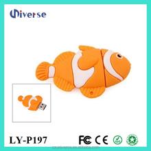 2015 top selling cheap usb flash drives wholesale fish usb stick 4gb