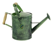High quality galvanized steel Green Patina Watering Can