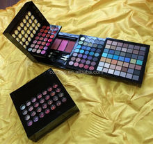 hotest 2015 multi layer make up box eyeshadow and lipgloss and blush kits