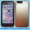 Fashionable accessories for iPhone 6 TPU+PC 2in1 hard plastic Case cover