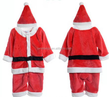 Winter Romper Baby Christmas Clothing Sets Girl Boy Santa Suit Novelty Costume