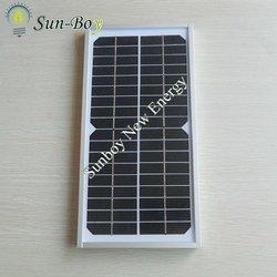 Monocrystalline Small Solar Panel 5W 18V