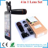 12x universal mobile phone zoom lens,Optical mobile phone camera lens Telescope Tripod Holder Camera lens For iPhone Samsung HTC