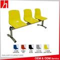 Económico mueble público exterior silla de plástico