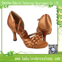 latn dance shoes in latin dance popular silk material