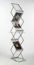Collapsible Literature Stand with Case