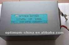 12V 120AH Lithium ion battery pack for electric boat/robot