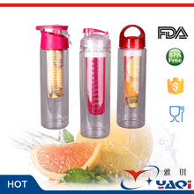Famous Factory Widely Usable Private Label Fruit/tea Infuse Bottle