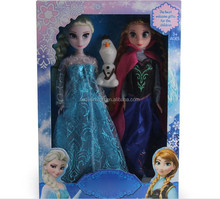 Christmas Gift Frozen Anna Elsa olaf Toys Princess dolls 11 Inch Princess Dolls Action Figure Toys Classic Play for kids