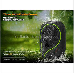 7800mah wtih LED waterproof power supply for SOS Samsung galaxy S4