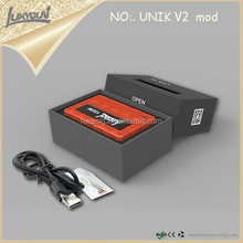Good product top selling original wood box mod Unik V2 vapor 150W mod