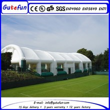above ground commercial quick up large size inflatable tent