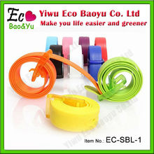 Promotional Scented Belt With Logo Silicone Rubber Belt
