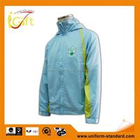 Hot sale high quality hoody jacket fashion nylon windbreaker plus size women