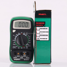 low price Mastech Brands MAS838 Chinese digital multimeter with backlit,temperature,resistance,diode test