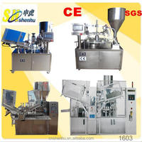 shenhu shoe polish fillingsealing machine